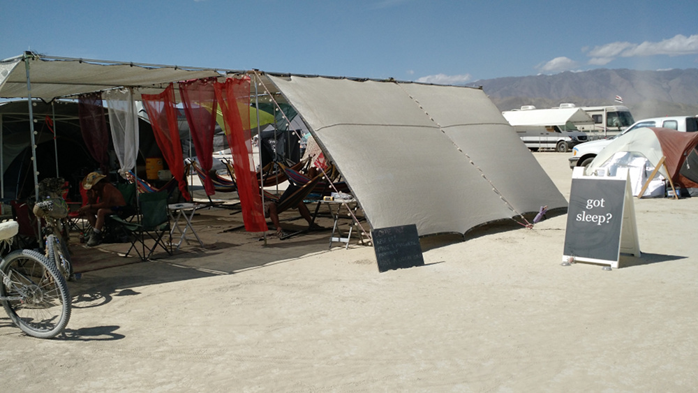 2015 burning man camp - a
